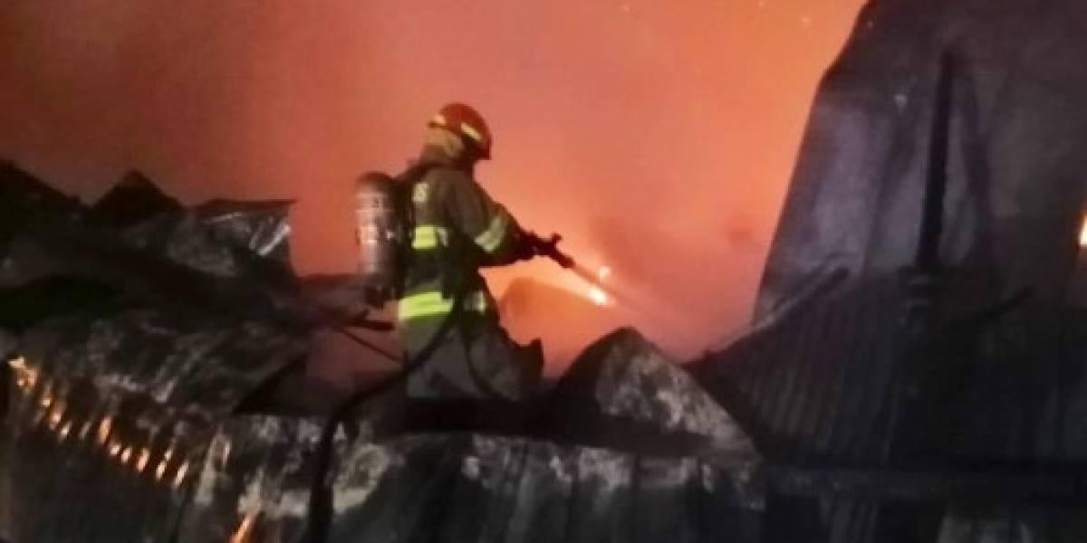 Quito: Incendio estructural se registra en Pusuquí
