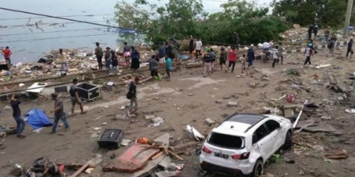 Estremecedoras fotos que dejó el fuerte terremoto en Indonesia
