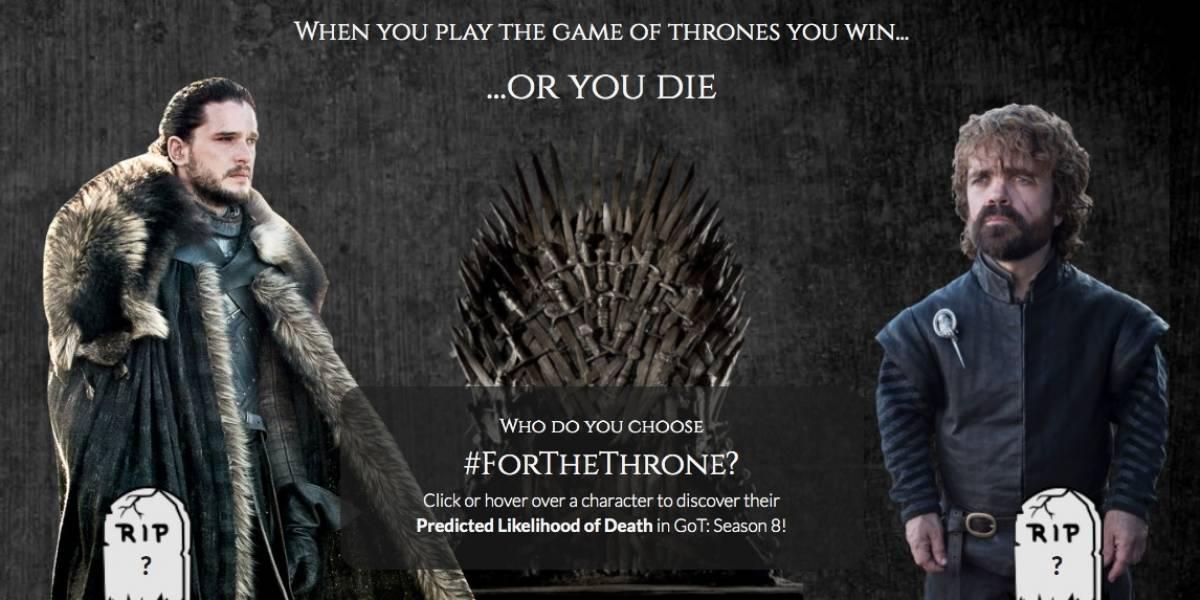 Estudantes alemães criam algoritmo para prever mortes em 'Game of Thrones'