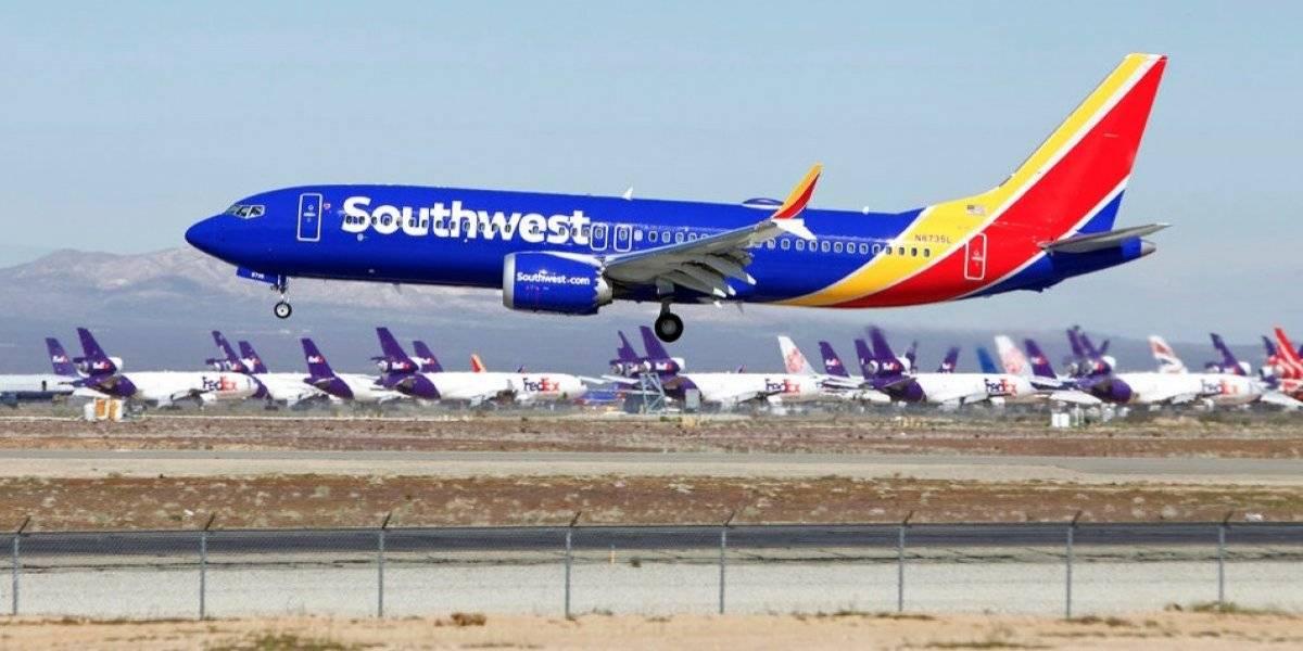 Southwest saca el Boeing 737 Max del calendario del verano