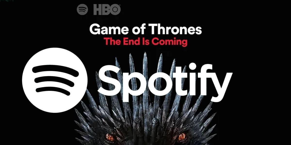 Alerta Spoiler: el final de Game of Thrones se esconde en Spotify