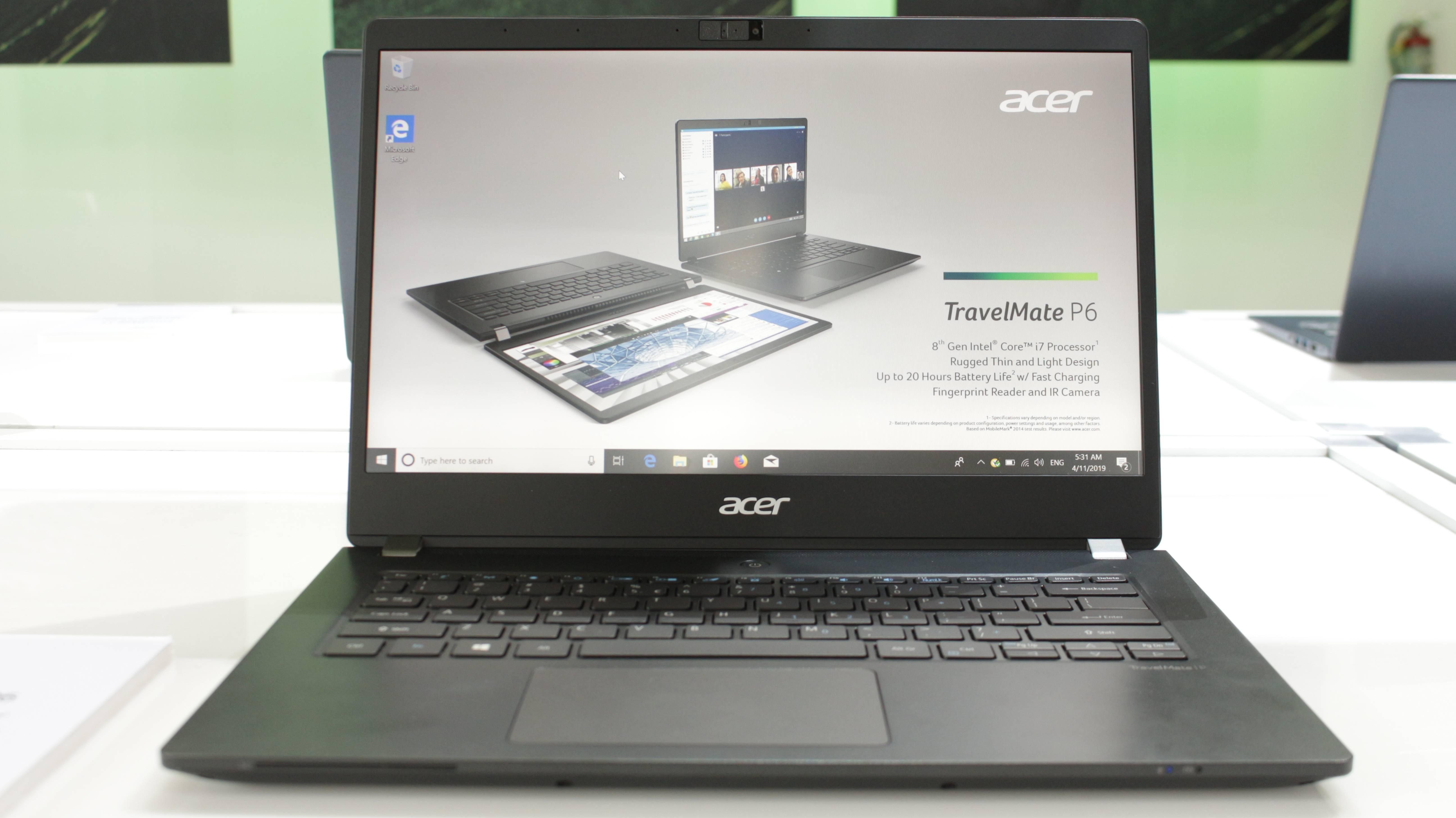 Acer nos presenta los nuevos Chromebooks 714 y 715, así como el TravelMate P6