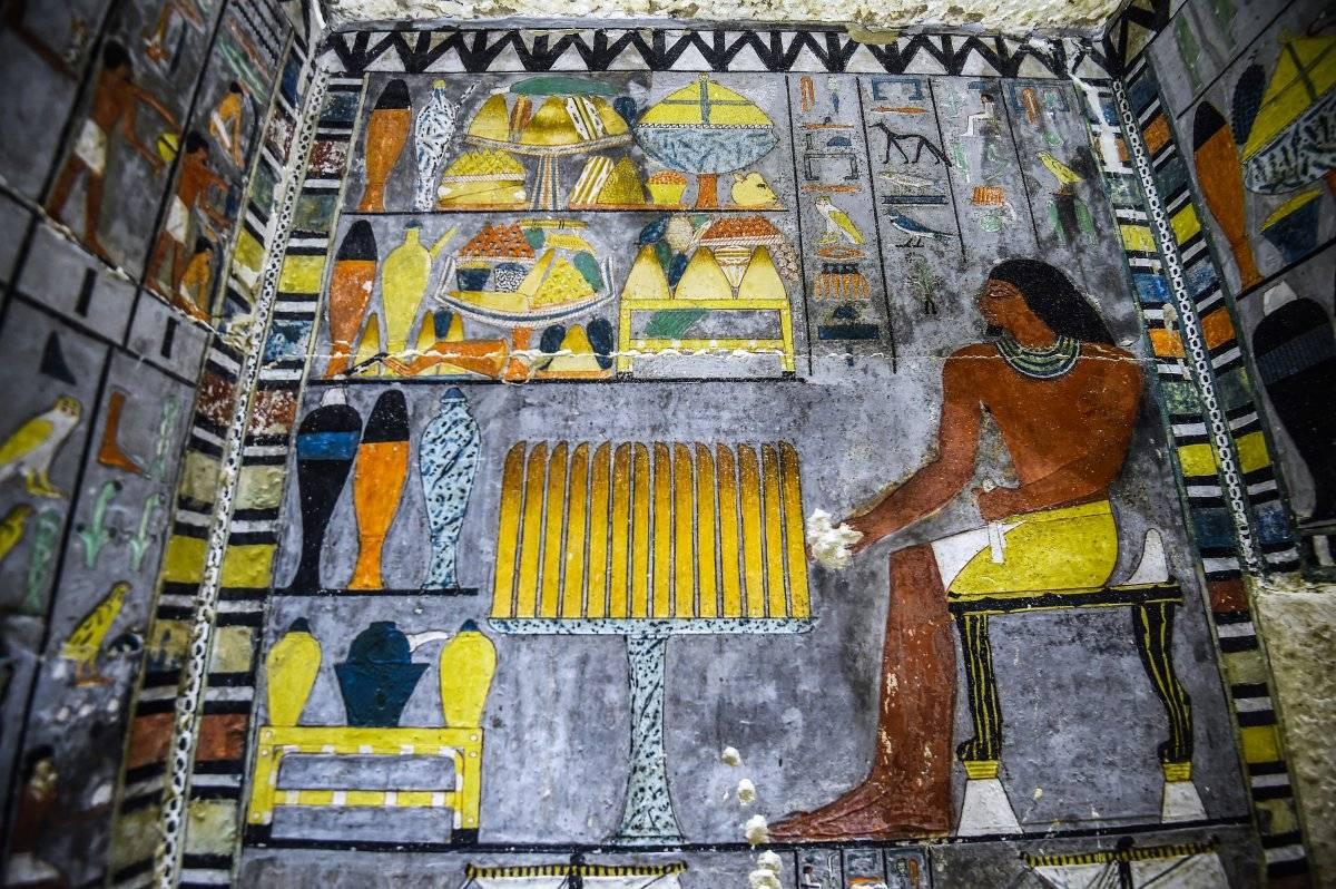 tumba en Egipto