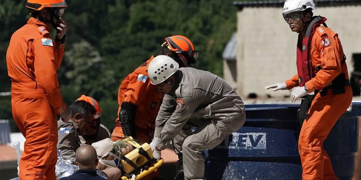 Suben a cinco los muertos por edificios derrumbados en Brasil: hay 17 desaparecidos bajo los escombros