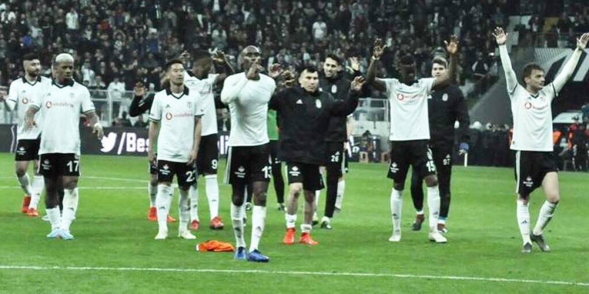 El Besiktas de Gary Medel bajó al líder y sigue en racha en el fútbol turco
