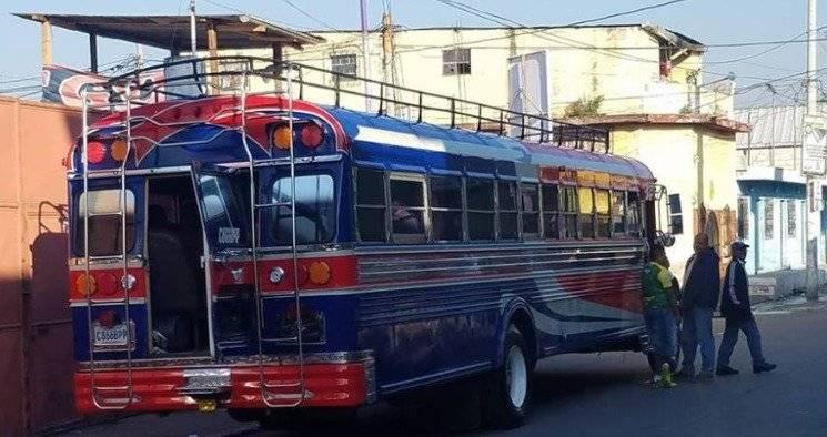 Bus del Deportivo Petapa