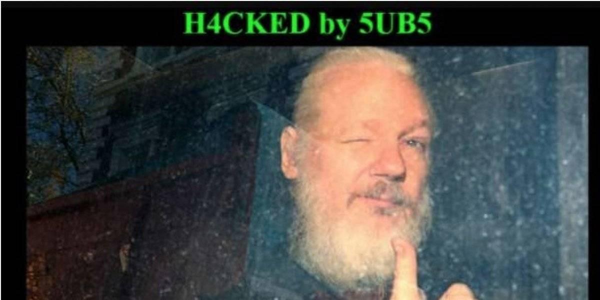 Ataque cibernético a la web del Municipio de La Maná tras retención de Julian Assange