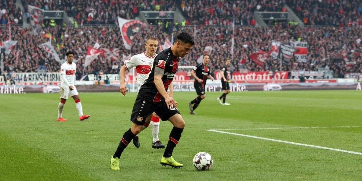 Bayer Leverkusen de Charles Aránguiz vuelve a los festejos en la Bundesliga