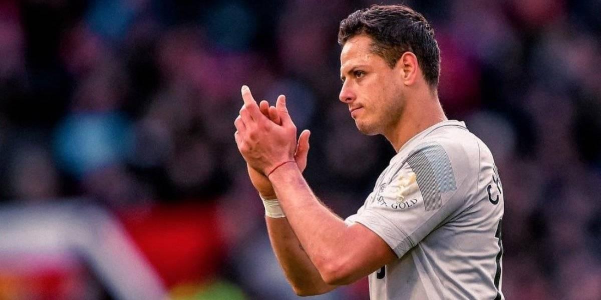 'Nunca lo olvidaré': Chicharito agradece la ovación en el Old Trafford