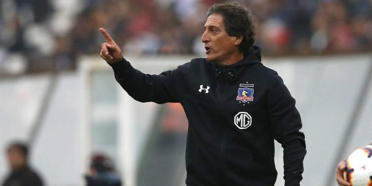 """La alegría de Mario Salas en Colo Colo: """"Es uno de los mejores partidos en el año, éste es el camino"""""""