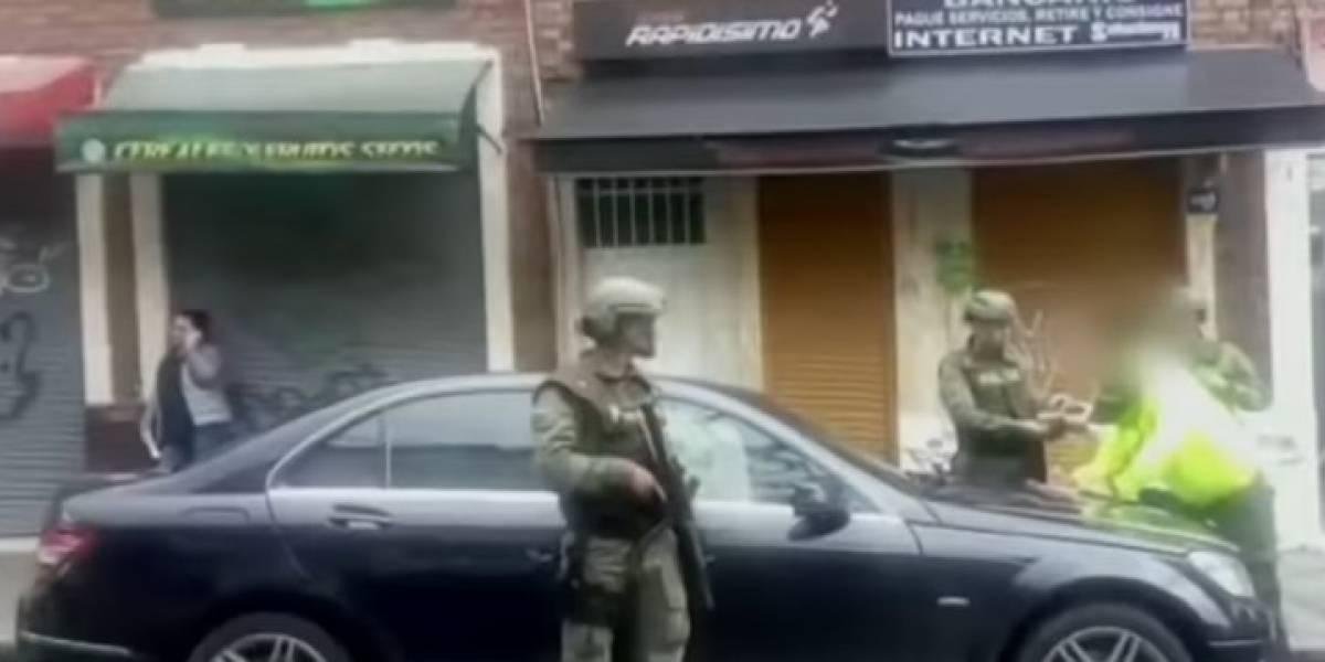 Así capturaron a peligroso narco mexicano que paseaba como si nada por Bogotá