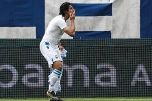 Sergio Floccari y su gol ante la Juve