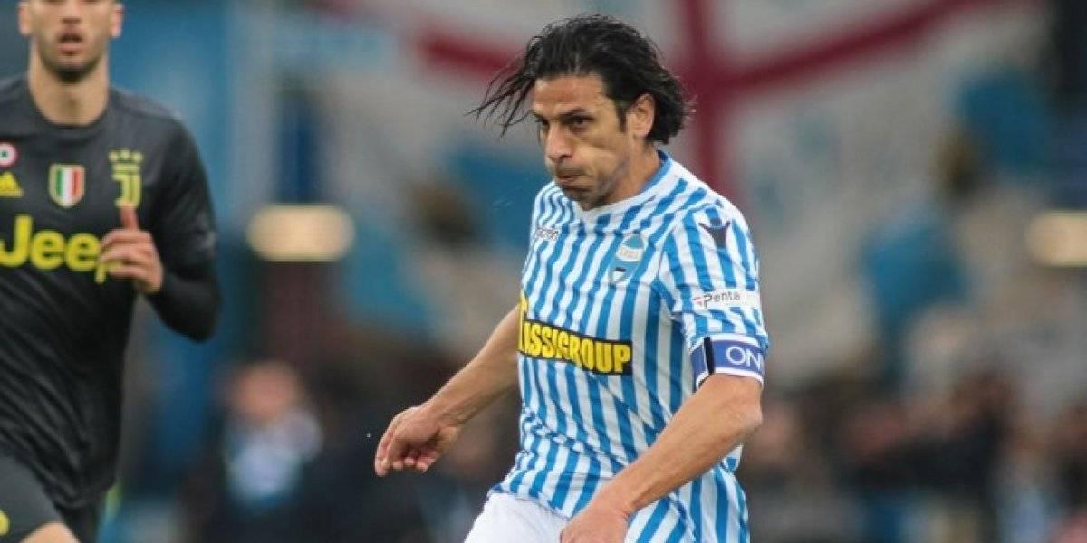Futbolista muestra sus atributos en alocada celebración ante la Juve