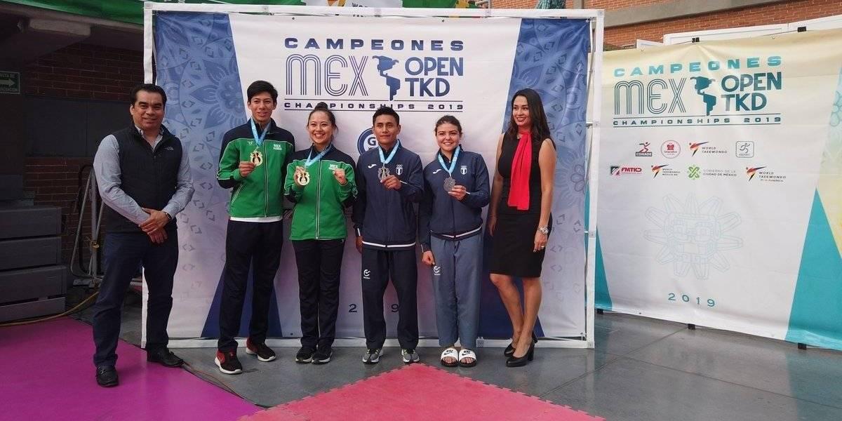 Taekwondo guatemalteco con extraordinaria participación en México