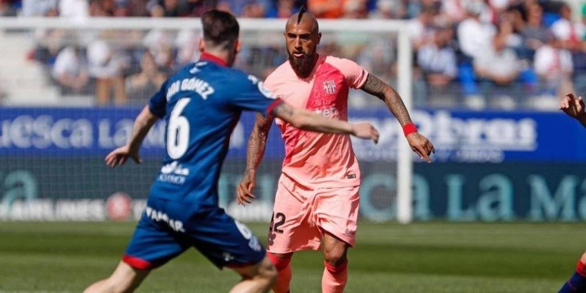 """La sinceridad de Arturo Vidal tras el empate ante Huesca: """"Teníamos la mente en la Champions"""""""