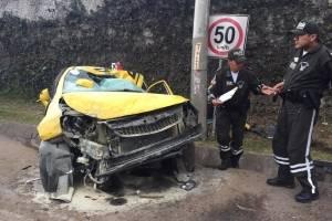 Una persona herida en estado crítico tras accidente en la Ruta Viva