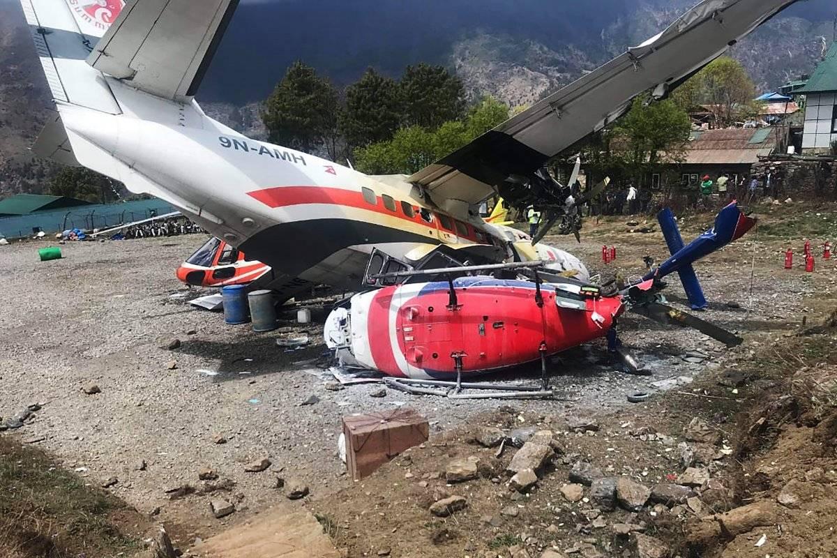 Avión Nepal