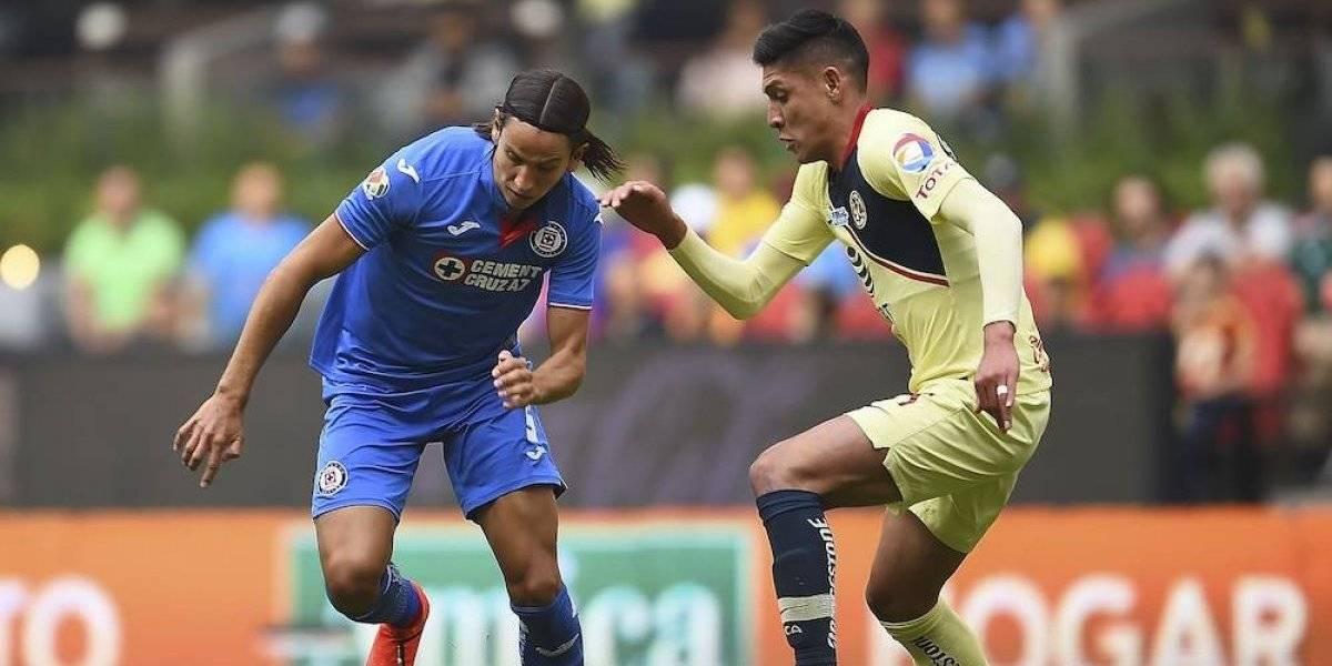 América y Cruz Azul empatan 0-0 en el Clásico Joven