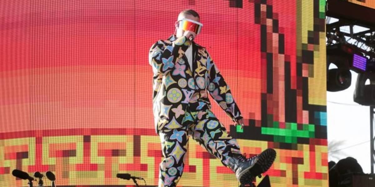 Bad Bunny se luce en Coachella Valley Music and Arts Festival 2019