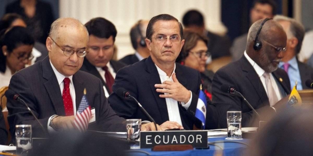 Jueza niega prisión preventiva de Ricardo Patiño y él acusa al gobierno de acecho en su contra