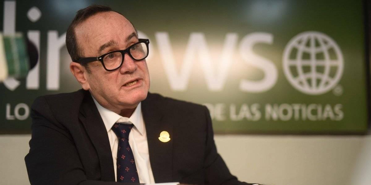 El 10 de Alejandro Giammattei, candidato presidencial de Vamos