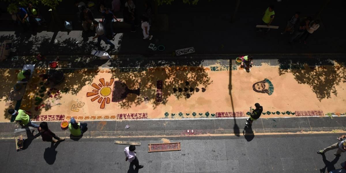 """Realizarán la """"alfombra más grande"""" el Jueves Santo"""