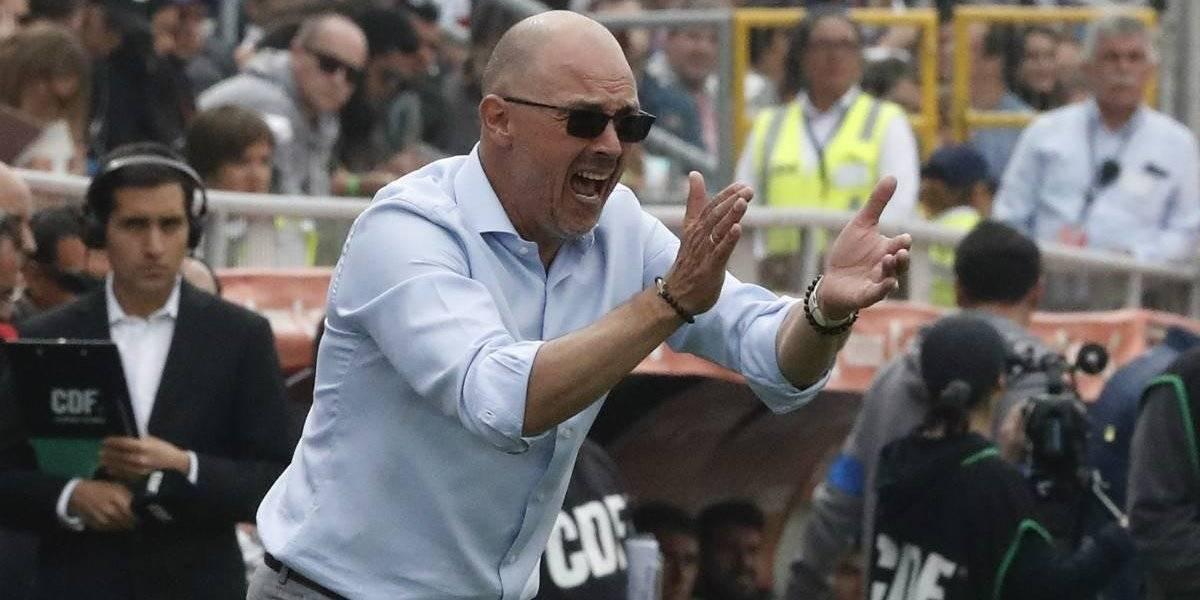 """El dolor de Alfredo Arias en la U: """"Jugamos mal y mis decisiones perjudicaron al equipo"""""""