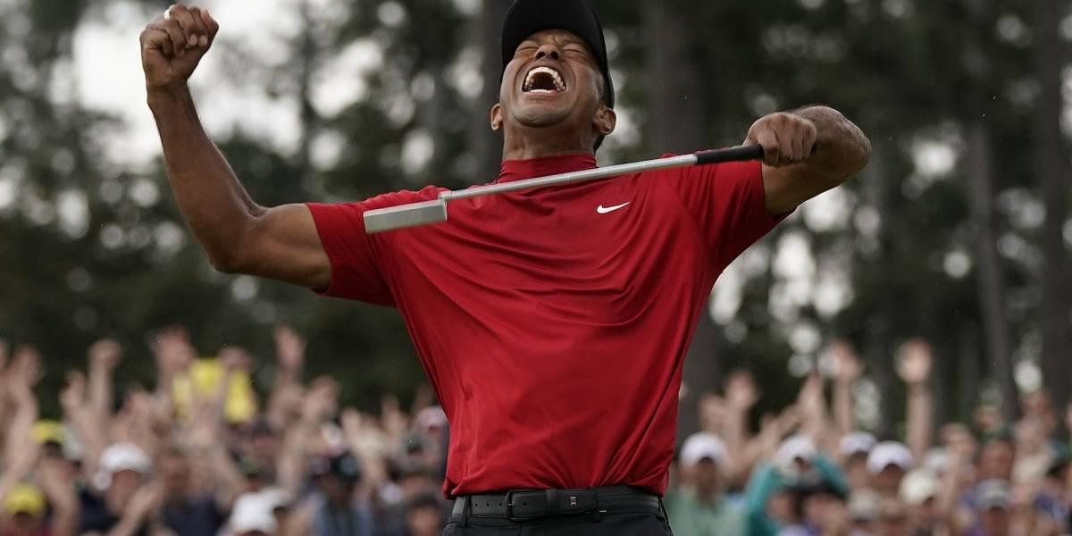 Tiger Woods se corona como campeón del Masters de Augusta