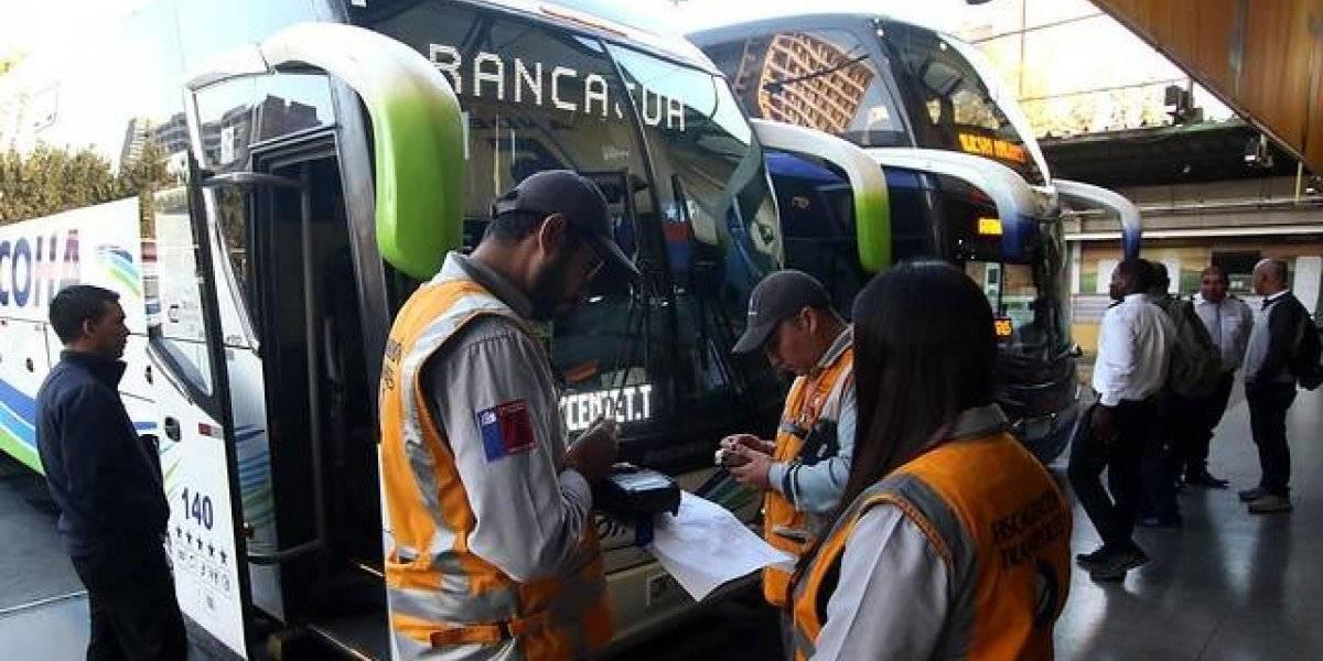 Semana Santa: Ministerio de Transportes anunció masiva fiscalización a buses desde este lunes