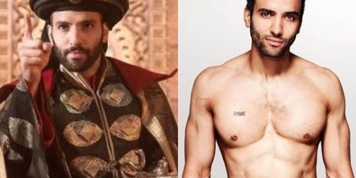 """Él es el guapo actor que se robará todos los suspiros como Jafar en """"Aladdin"""""""