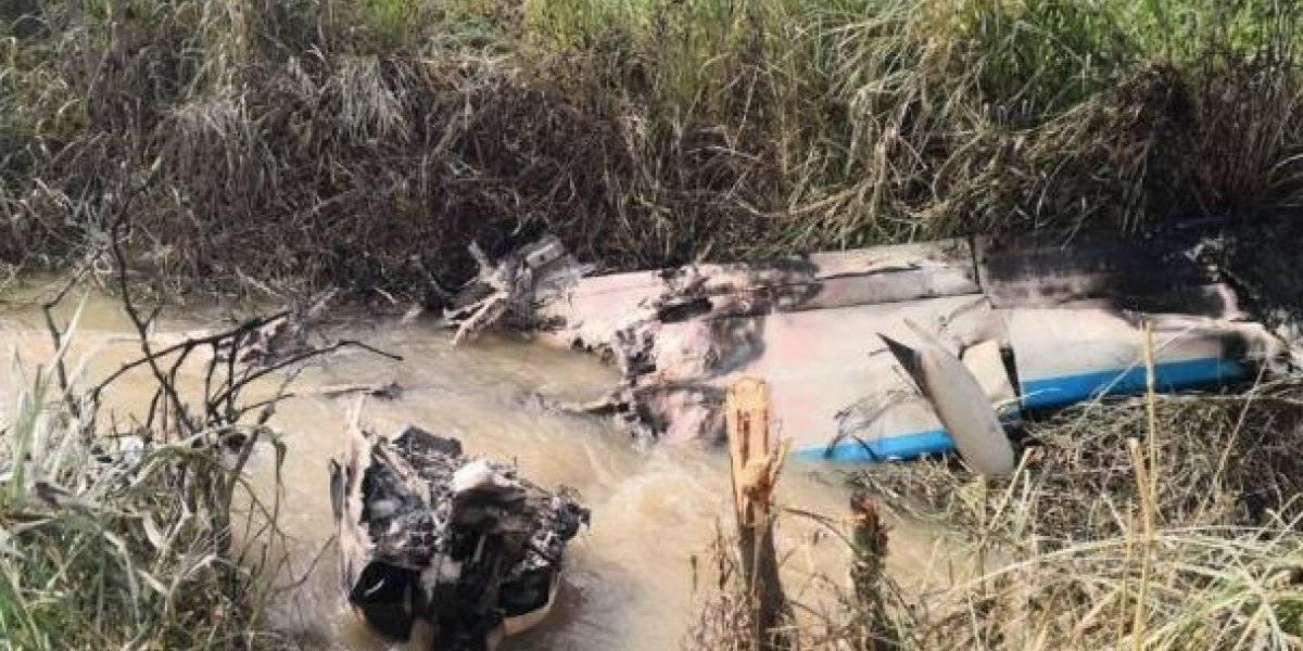 Avioneta se estrella en la provincia de Guayas, todavía se desconoce su origen