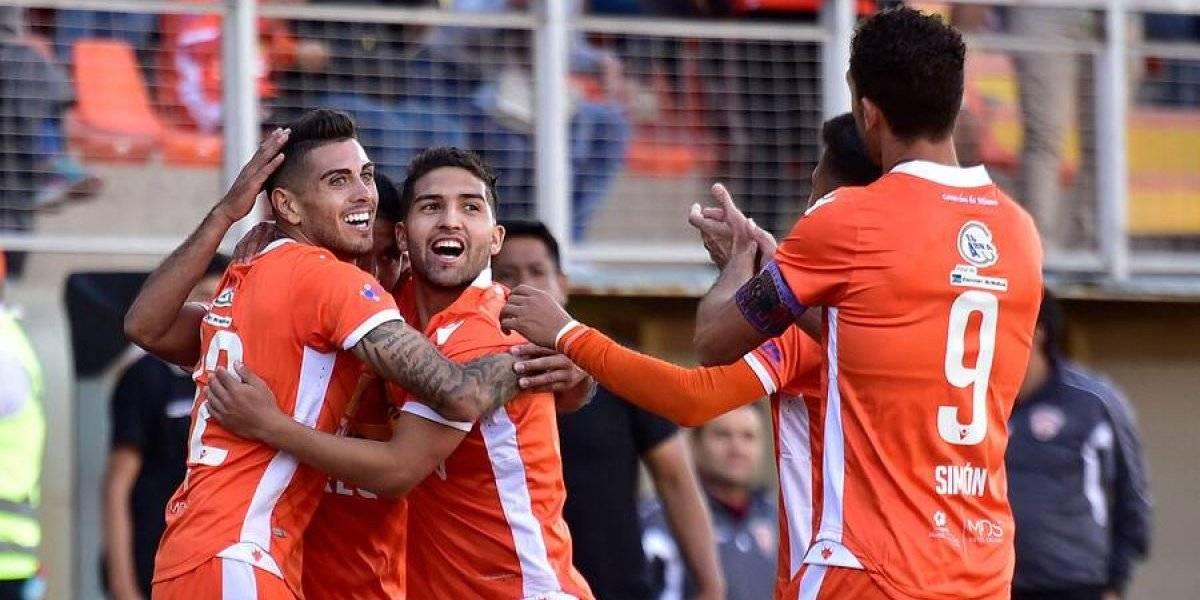 Cobreloa estiró su levantada en Primera B y saltó al segundo lugar tras golear a San Luis