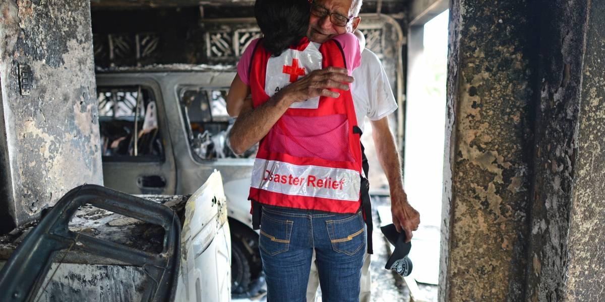 Cruz Roja invierte más de $30 millones en recuperación del huracán