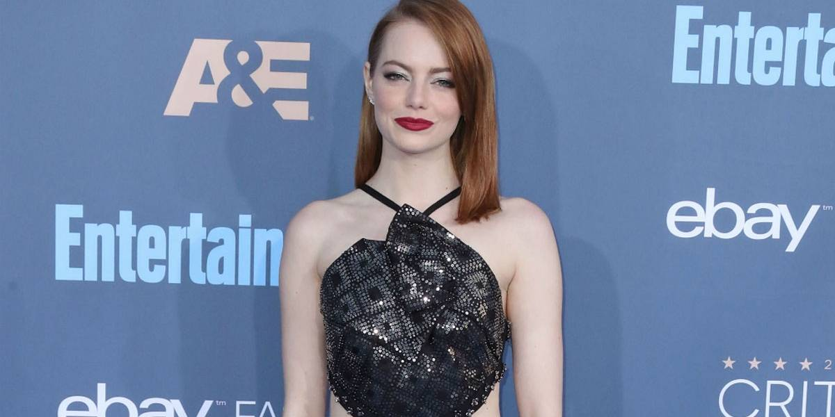 Emma Stone está super animada para ver as Spice Girls