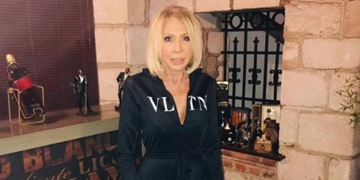 Laura Bozzo se deja ver en ajustado bikini y aseguran que se operó los senos