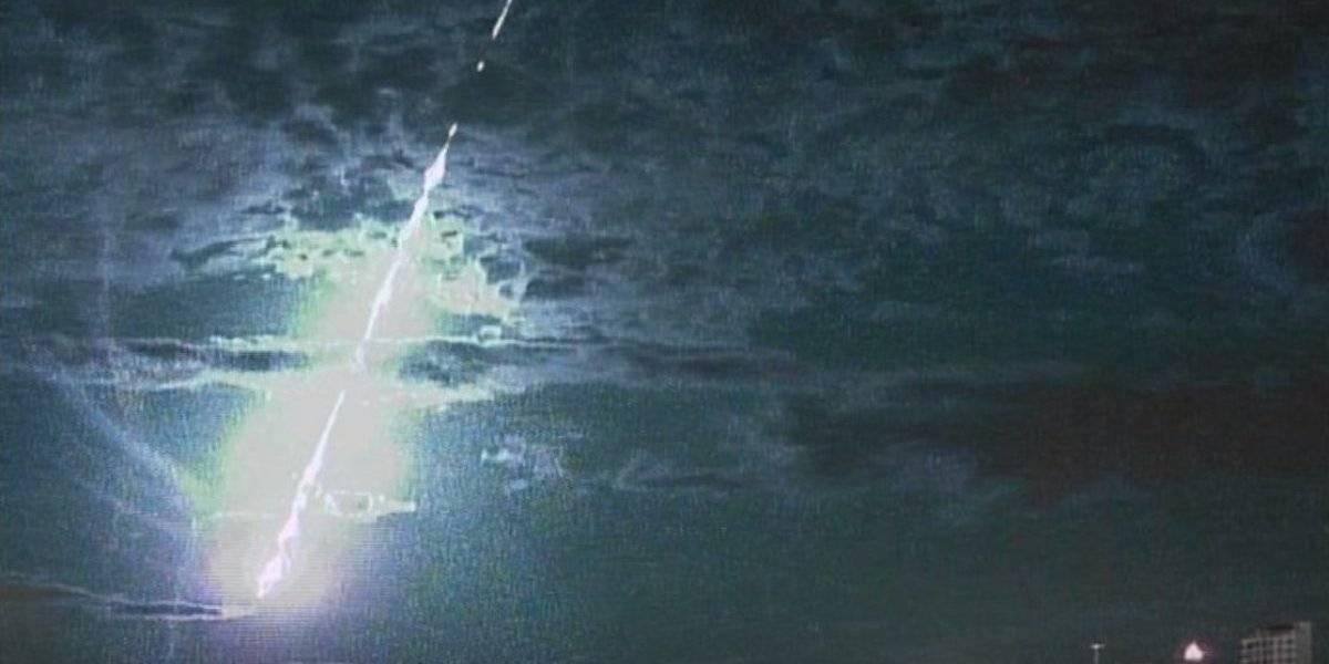 VÍDEO: Meteoro cai no litoral do Rio Grande do Sul