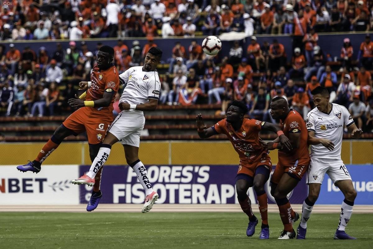 El Nacional vs Liga de Quito: Empate de infarto en el coloso de