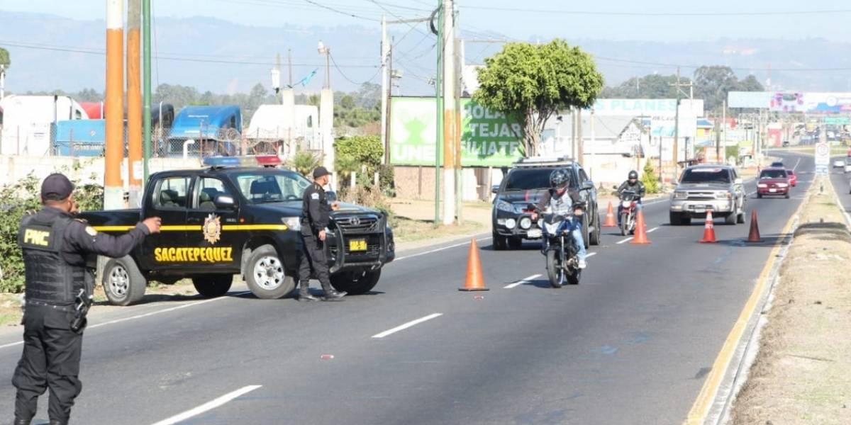 Suspenden descansos a policías por plan de prevención