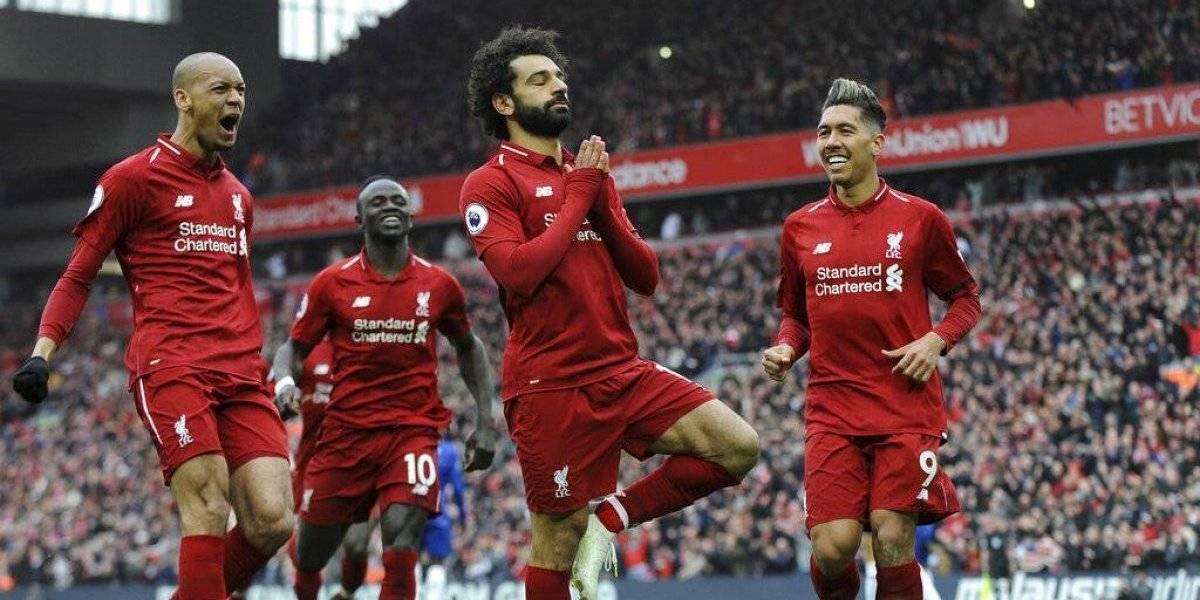 Liverpool derrota a Chelsea y no le da tregua al City en su lucha por el título de la Premier