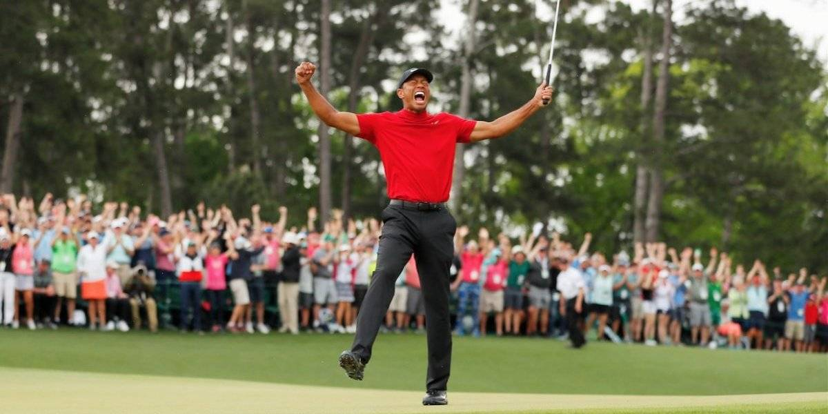 Tiger Woods vuelve a la élite tras ganar su Grand Slam número 15