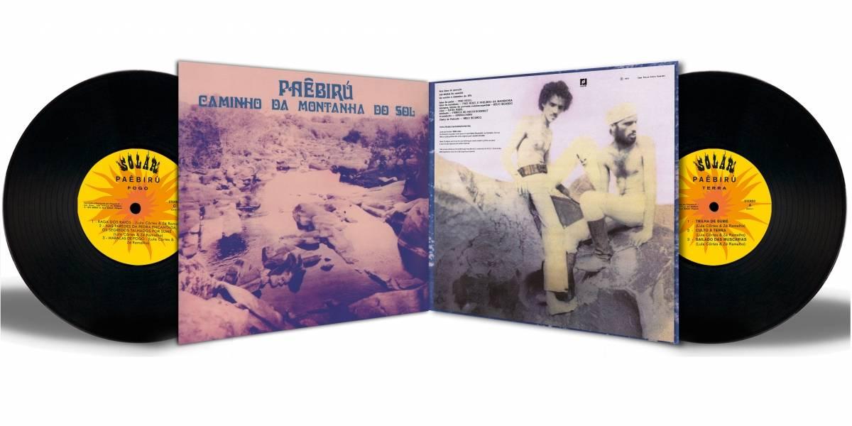 Tido como raridade, vinil 'Paêbirú' é reeditado