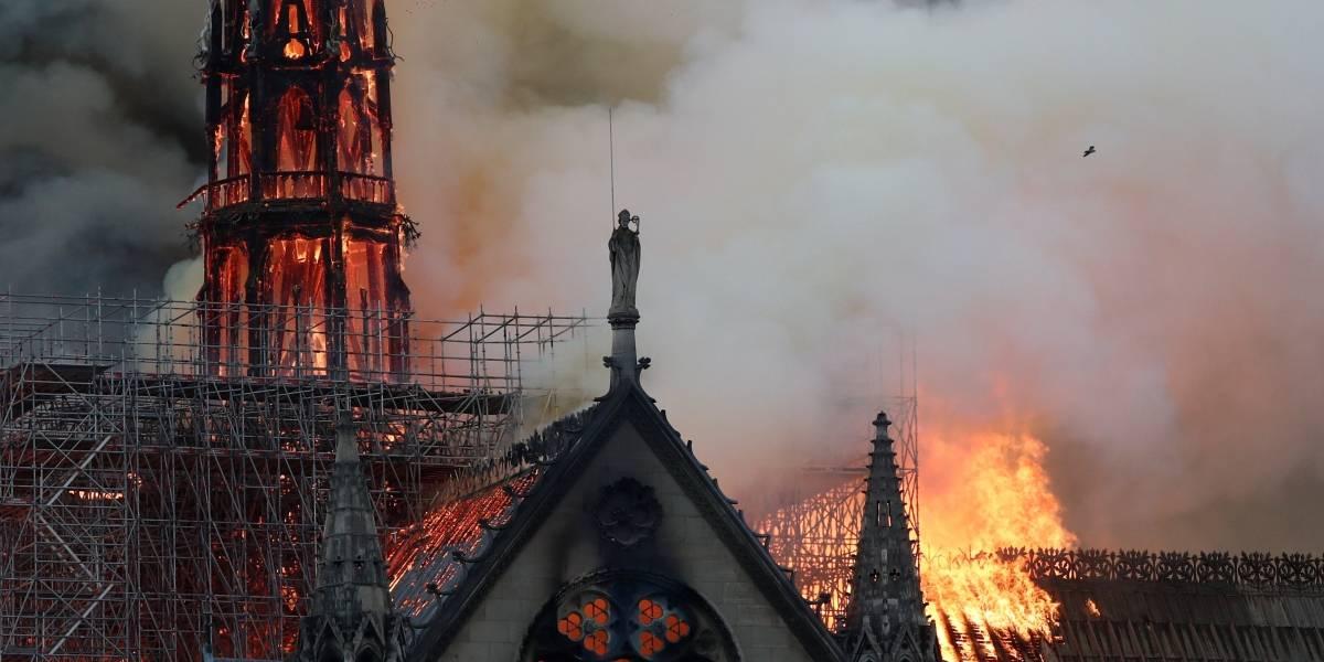 Notre-Dame: FOTOS mostram destruição da catedral em Paris
