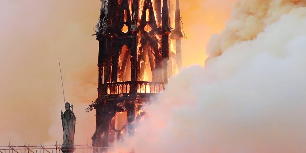 França divulga hipóteses oficiais da causa do incêndio de Notre-Dame