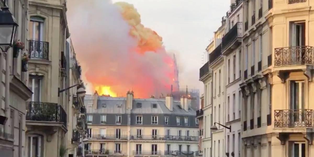Incêndio na Catedral de Notre-Dame pode ter sido causado por obras de restauro