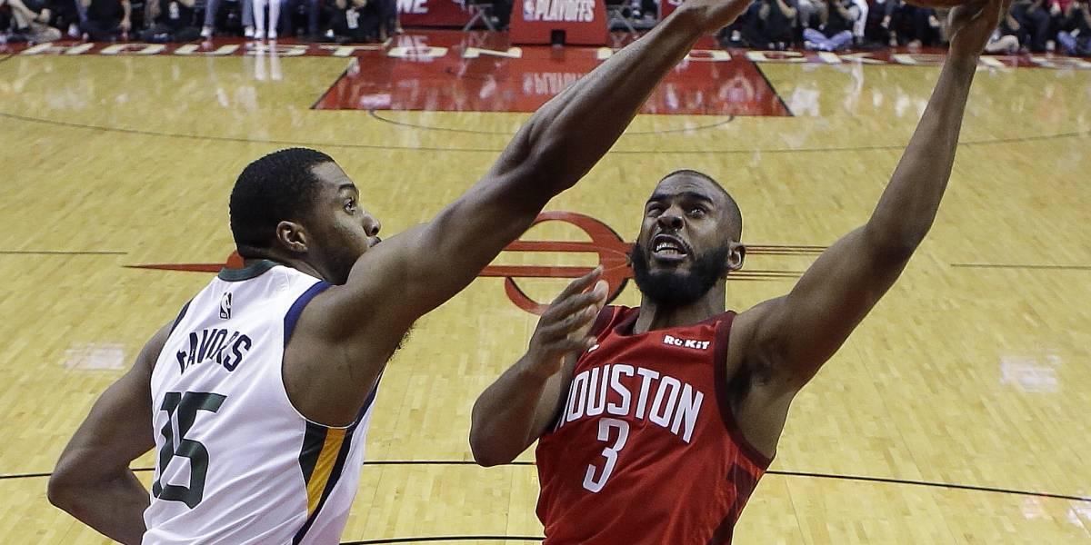 James Harden y los Rockets se imponen ante los Jazz en el primer partido de la serie