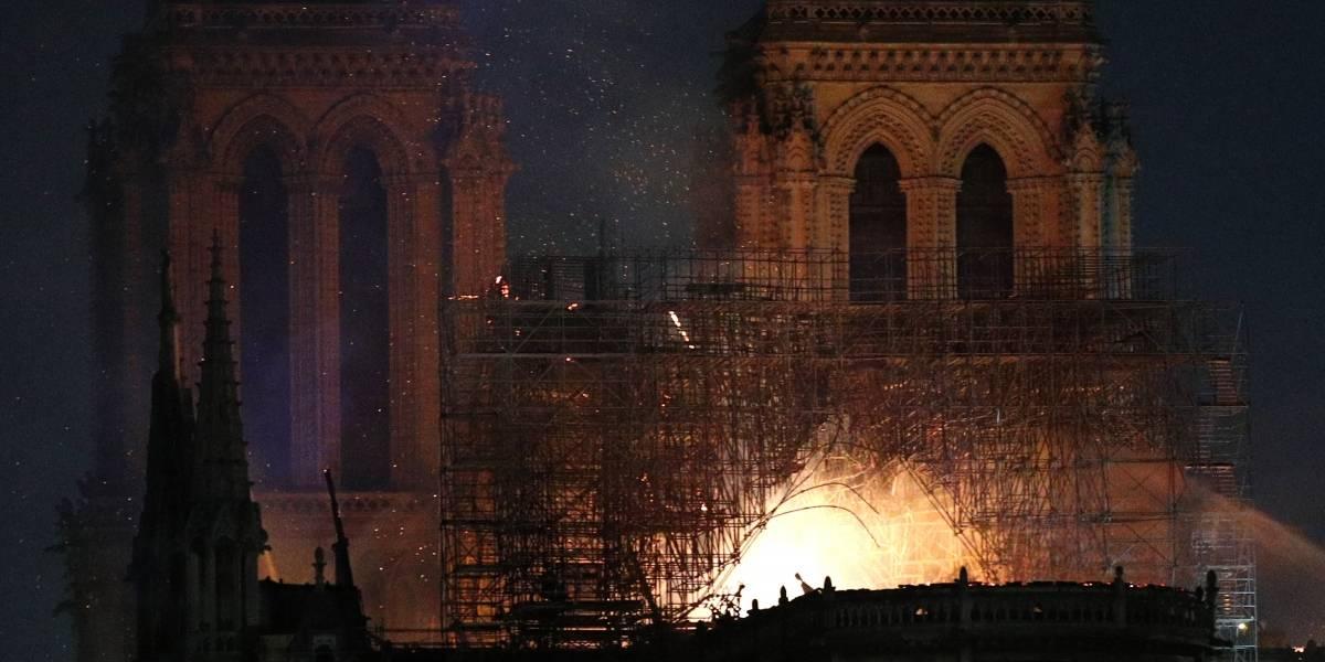Descartan incendio en catedral de Notre Dame haya sido provocado