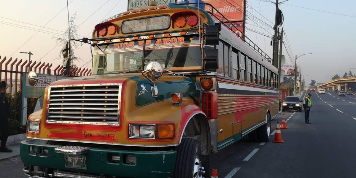 Disparan contra autobús en ruta al Pacífico