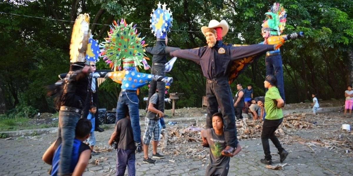 VIDEO. El Baile de Judas, tradición arraigada a la Semana Santa en Suchitepéquez