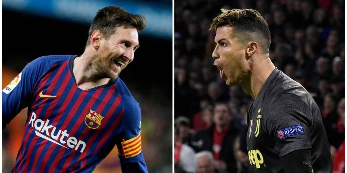 Famosa revista luce un beso apasionado entre Messi y Cristiano en su portada