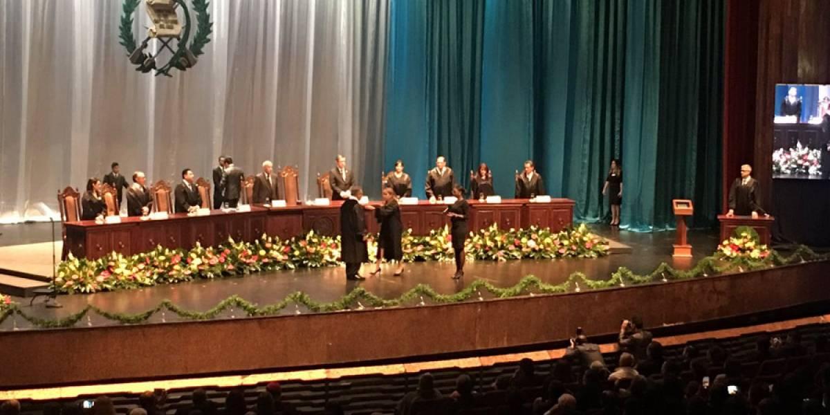 Bonerge Mejía Orellana toma posesión como presidente de la CC
